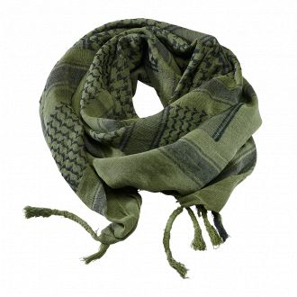 Shemagh Scarf-Olive-black