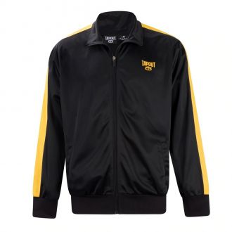 Tapout track jacket-Black/yellow stripe