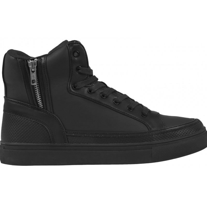 Urban Classics Zipper high Top-Black