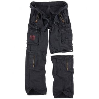 Traveler Zip off pants-Black