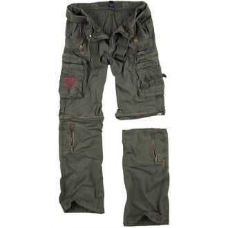 Traveler Zip off pants-Olive