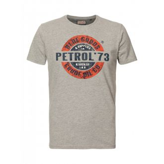 Petrol T-shirt 600 - Light Grey Melee