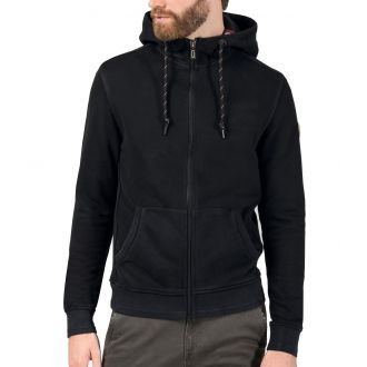 TZ heavy vintage hoodjacket 10080-Pirate Black