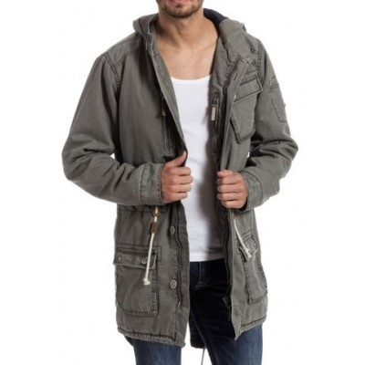 Timezone  Parka Jacket-Grey
