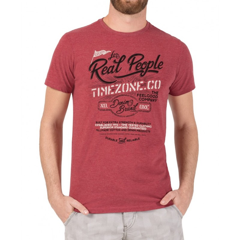 TZ T-shirt 10074-Chili Red