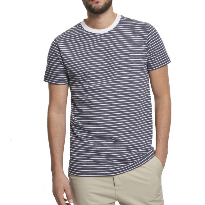 Urban Stripe T-shirt 3519-Grey