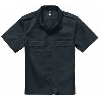 US-Shirt shortsleeve-Black