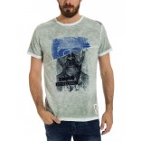 TimeZone T-shirt 0283-Military Grey