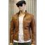 Rocknb Leather jacket-Advance-Cognac