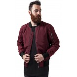 Urban Bomber-Burgundy/black
