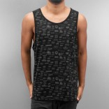 Dangerous Tank Top-Black