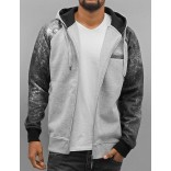 DNGRS Geography Zip Hoody-Grey