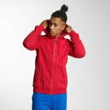 Ecko Bobby zip Hoody-Red