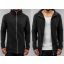 JR long soft Jacket 301-Black