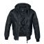MA1 Hooded Jacket-Black