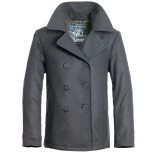 Pea Coat-Anthracite