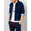 Petrol denim jacket 130-5850 Vintage blue