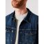 Petrol denim jacket 130-5800 Vintage mid blue