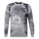 Petrol-Knit Pullover 274-Faded Indigo