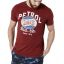 Petrol T-shirt 600-18 Dark red