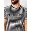 Petrol T-shirt 19619-Black stripe