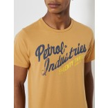 Petrol T-shirt 654-Washed orange