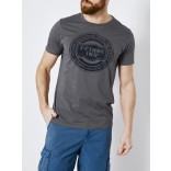 Petrol T-shirt 696-Grey