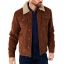 Petrol Trucker jacket-Brown