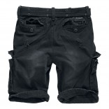 Shell Valley reisitaskushortsit-Black