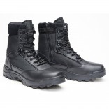 Tactical Boots zipper