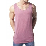 Urban Classics-Burnout Jersey Big Tank-Ruby