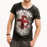 Trueprodigy T-shirt Black dog