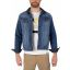 TZ Denim winter jacket-Iron blue