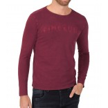 TimeZone longsleeve 10068-Wine red