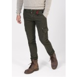 Timezone Pants Ron-Dark olive
