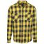 Urban checkshirt-black/yellow