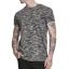 Urban Melange T-shirt 2696-blackgrey